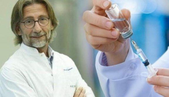 Prof. Ovalı aşı için tarih verdi