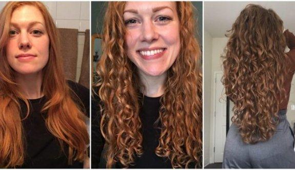 Saçı Doğal Güzelliğine Kavuşturan Curly Girl Method