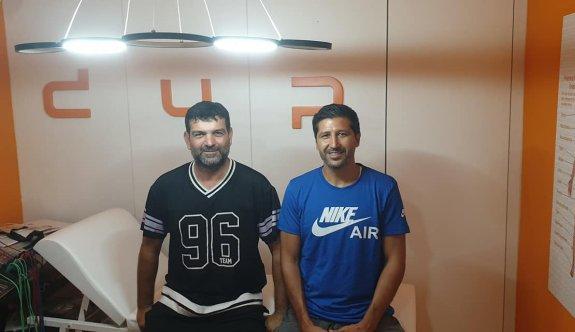 Sapsızoğlu, DUP Cimnastik Kulübünü ziyaret etti