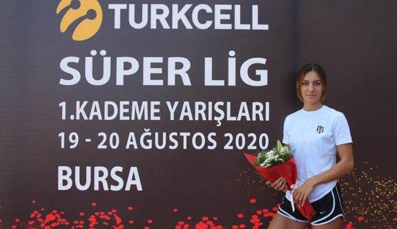 Aydın, uzun atlamada Türkiye ikincisi