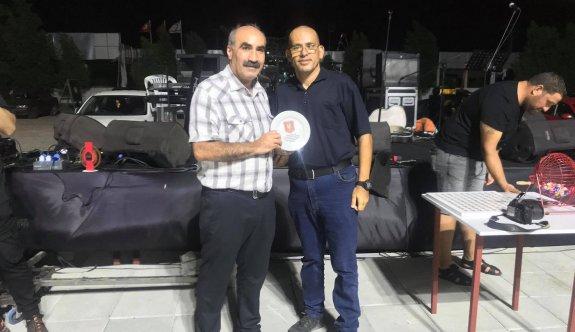 Baf kulübü İkidereli'yi onure etti