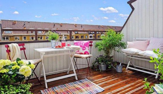 Bahçe ve teras dekorasyon fikirleri