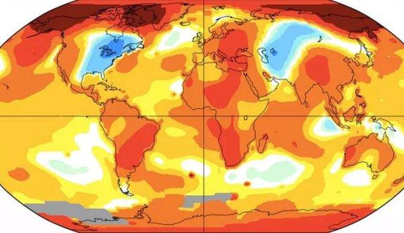 Dünya hızla ısınıyor