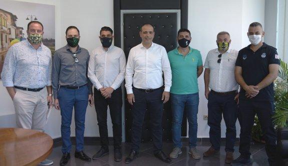 Fenerbahçeliler, Harmancı'nın konuğu oldular