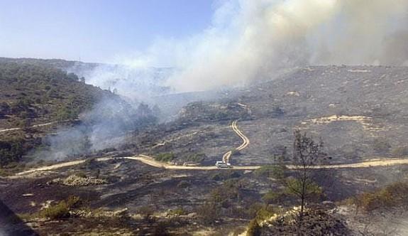 Güney'deki yangın halen kontrol altına alınamadı