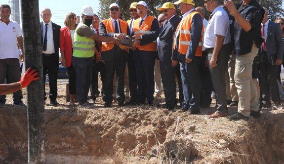 İskele'de Türk Maarif Koleji binasının temel atıldı