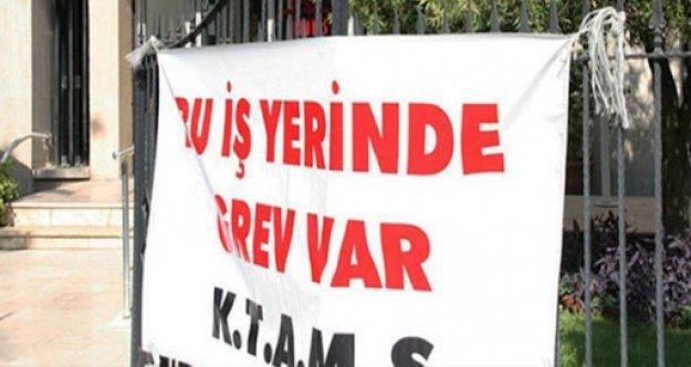 KTAMS ve KAMU-İŞ Motorlu Araçlar Birimi'nin tüm şubelerinde greve gidiyor