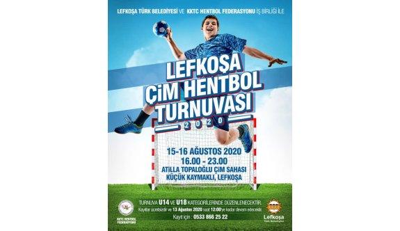 Lefkoşa'da çim hentbolu heyecanı yaşanacak