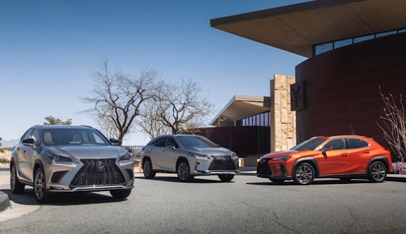 Lexus SUV satışında 5 milyonu geçti