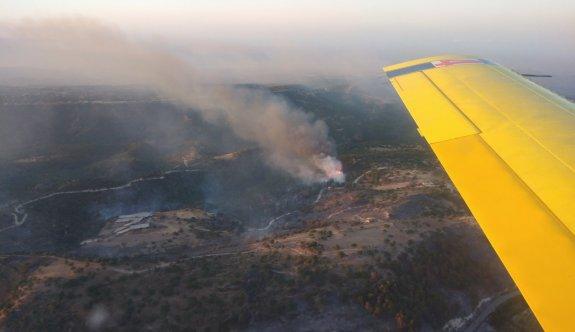 Limasol - Baf sınırında yangın