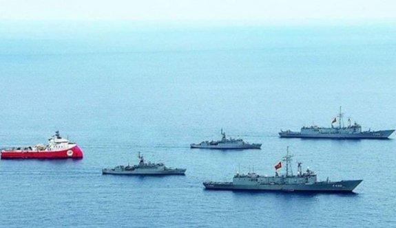 """""""Oruç Reis gemisi Yunan kıta sahanlığında devam ediyor"""""""