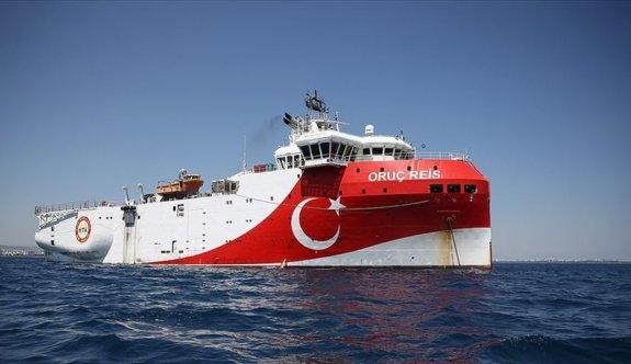 Oruç Reis'ten Kıbrıs açıklarında yeni Navtex