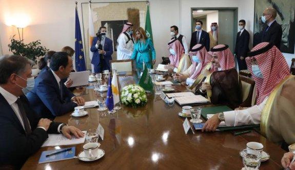 """Suudi Arabistan """"Kıbrıs Cumhuriyeti'nin egemenliğine"""" destek verdi"""