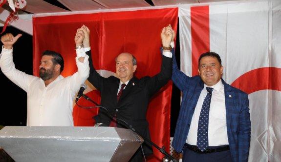 Tatar, seçim startını Mağusa'dan verdi