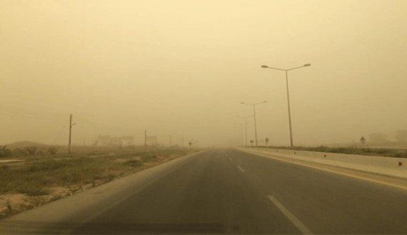 Tozlu hava geliyor
