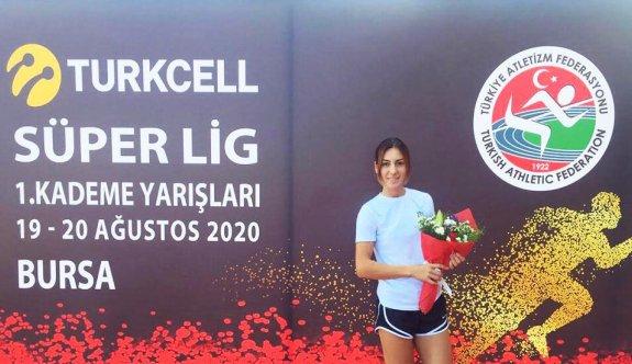 Tuğba, Türkiye şampiyonu oldu