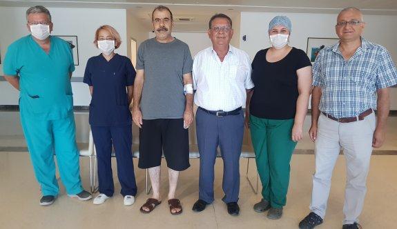 YDÜ Hastanesi'nden üç boyutlu tümör ameliyatı