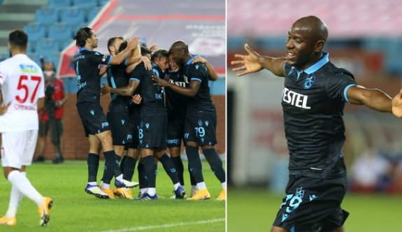 Afobe coştu Trabzonspor 3 puana koştu