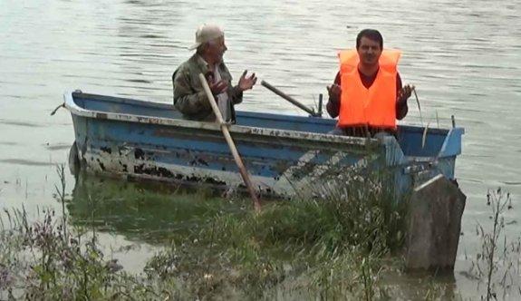 Baraj suları çekilince mezarlık ziyaretleri başladı