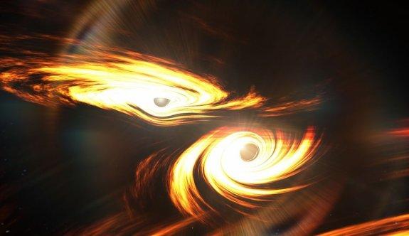 Dev karadeliklerin çarpışması 7 milyar yıl sonra Dünya'yı salladı