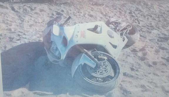 Dikkatsiz motorlu ağır yaralandı