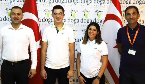 Doğu Akdeniz Doğa Koleji öğrencilerinden büyük başarı