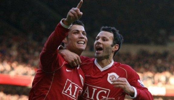 Giggs'ten Cristiano Ronaldo'ya övgü