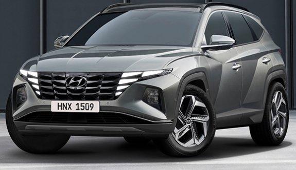 Hyundai Tucson yepyeni tasarımıyla görücüye çıkıyor