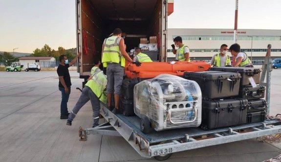 Katar Kraliyet Ailesi iki kamyon eşyayla Bodrum'a geldi