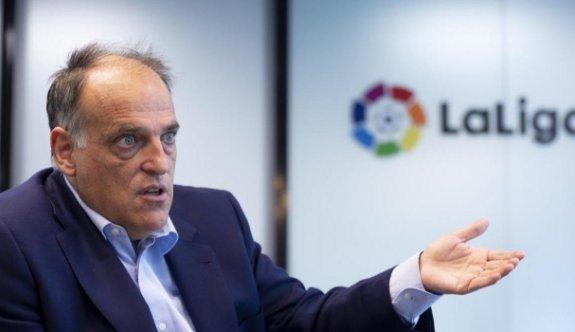 La Liga başkanı hakkında soruşturma talebi