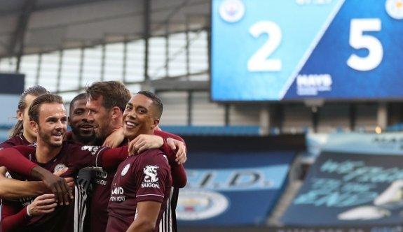 Leicester, Manchester City'yi bozguna uğrattı