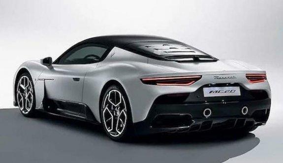 Maserati'nin süperspor modeli MC20 heyecanlandırdı