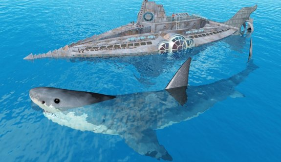 Megalodon köpekbalığının gerçek boyutları ilk kez ortaya çıkarıldı