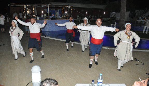 Mimoza Hotel'de unutulmaz Kıbrıs gecesi