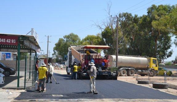 Minareliköy-Demirhan arası yol asfaltlandı