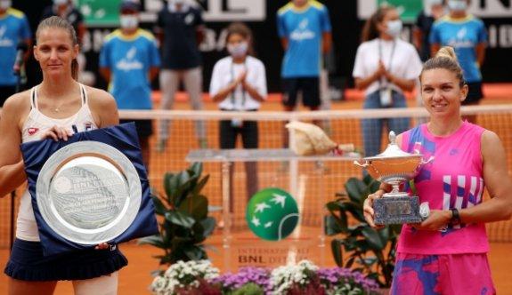 Roma Açık Tenis Turnuvası'nda Halep şampiyon oldu