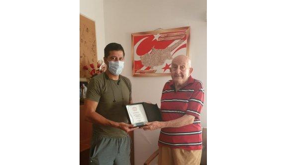 Sapsızoğlu'ndan, Türkmen'e vefa ziyareti