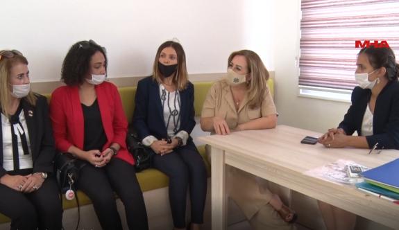 Sibel Tatar Ötüken Özel Eğitim Okulunu ziyaret etti