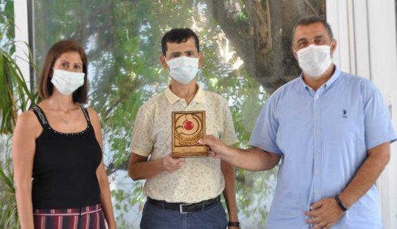 Thalassemia Derneği'nden Telsim'e teşekkür plaketi