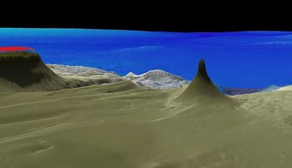 Avustralya'da mercan kulesi bulundu