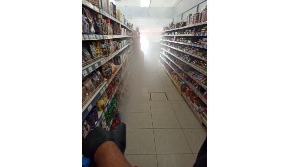 Aytan Market'te bir çalışan pozitif