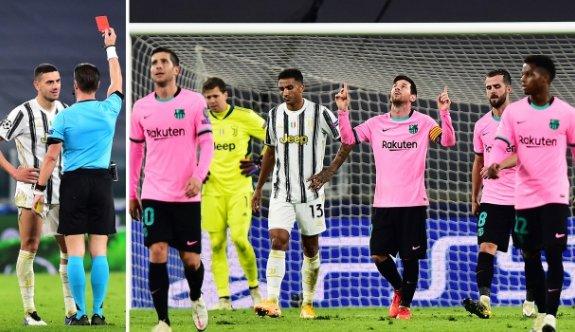 Barcelona, Juventus'u deplasmanda devirdi