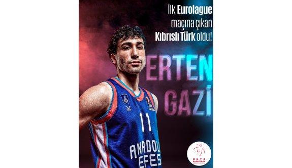 Basketbol Federasyonundan Erten'e kutlama