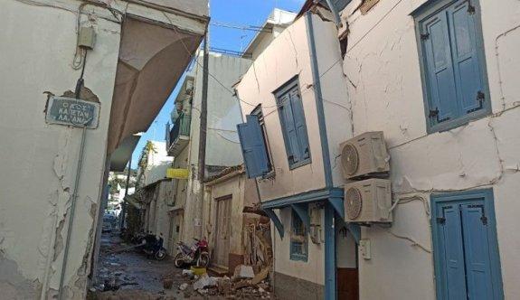 Deprem Yunan adası Sisam'ı da vurdu