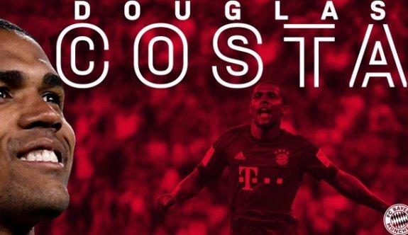 Douglas Costa Bundesliga'ya geri döndü