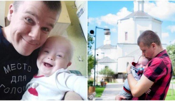 Down Sendromlu Oğluyla Yeni Bir Hikaye Yazan Cesur Baba