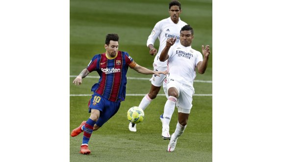 El Clasico'da Real Madrid güldü