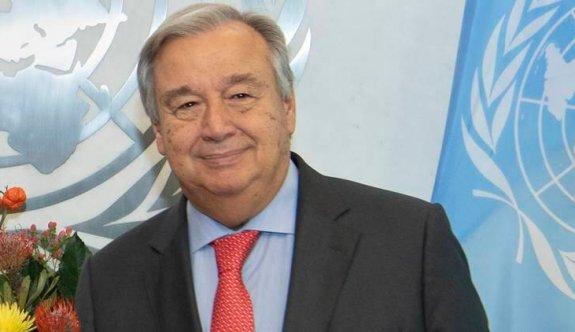 Guterres'in davetiyeleri hazır