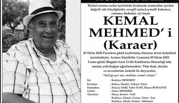 Kemal Mehmed defnedildi