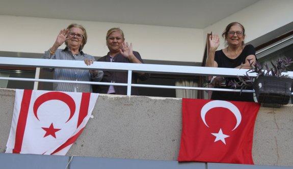 Lefkoşa'da 29 Ekim Cumhuriyet Bayramı coşkusu yaşandı